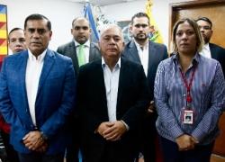 Contralor general se reunió con representantes del Ministerio para el Desarrollo Minero y de PDVSA Industrial
